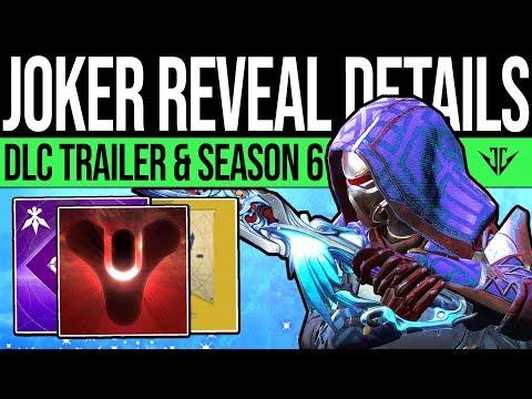 Destiny 2 | DLC REVEAL DETAILS & UPDATES! Jokers Wild Vidoc, New Content, Patch Previews & More! thumbnail