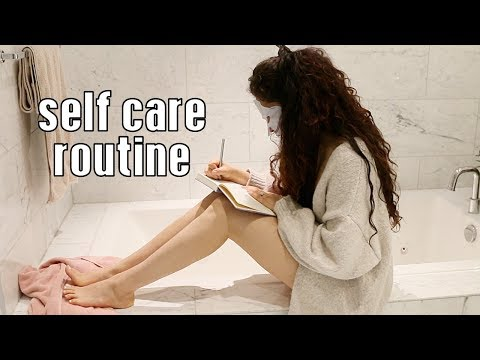 MY -PamperSELF CARE ROUTINE