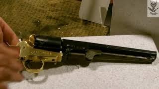 1851 Colt Navy / Флотский Кольт модели 1851 года. Распаковка и обзор, ч. 1