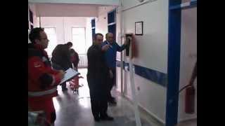 2013 Kurşunlu Devlet Hastanesi Yangın ve Deprem Tatbikatı