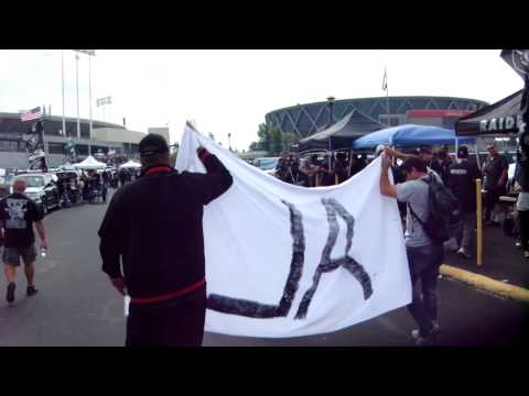 Tribute to Al Davis at Oakland Alameda County Coliseum