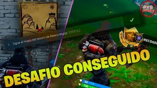 SIGUE EL MAPA DEL TESORO DE RIBERA REPIPI | FORTNITE BATTLE ROYALE | PYBGAMERS