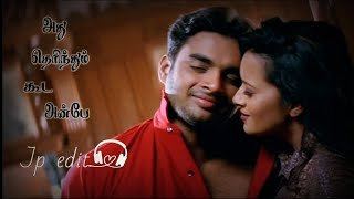 Vaseegara Song WhatsApp Status | Minnale | Harris Jayaraj