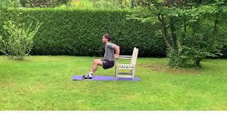 Exercices avec une chaise