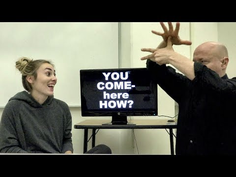 ASL: WH Questions in American Sign Language
