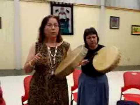 #Ojibway Pipe-Ceremony for #MMNW w/artist John Laford @ IFC Sault Ste Marie, ON -June25/16
