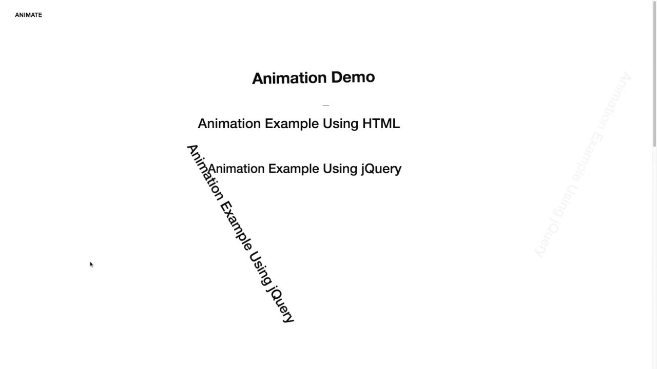 How To Install Animate CSS Animations Using jQuery