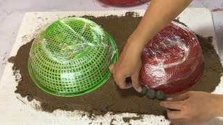 DIY - ❤️ cement craft ideas ❤️ -  Combine small fish ponds and bonsai pots