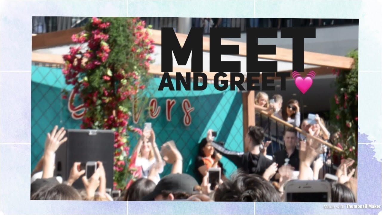 James charles meet and greet in australia youtube james charles meet and greet in australia m4hsunfo
