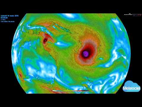 Déplacement Cyclone Pam Youtube
