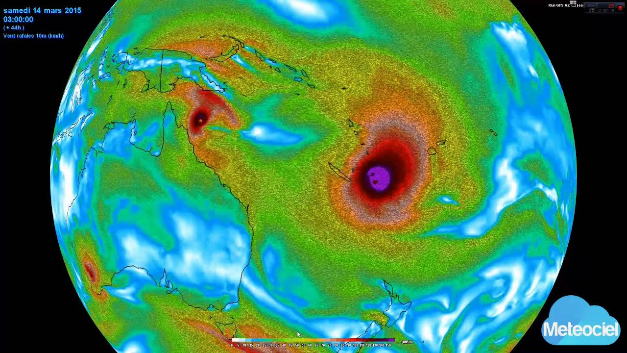 Déplacement Cyclone Pam