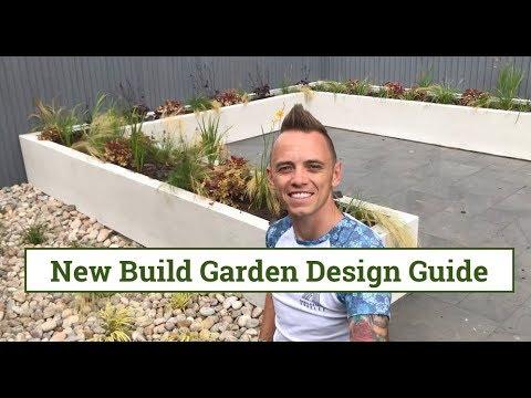 New Build Garden Design Guide Youtube
