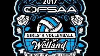 ofsaa girls a volleyball 2017 d1g4 hts vs bdhs