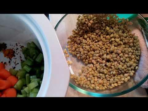 Crockpot Lentil Soup Quick Recipe