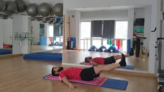 Pilates con Diego. Clinica San Gil