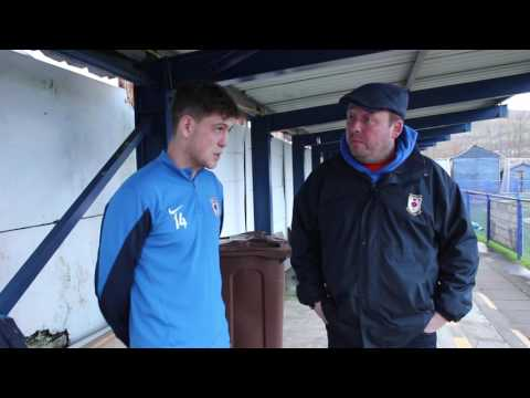 GneTV - Ben Richardson Post Match Interview (Clitheroe)