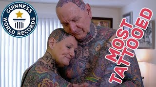 Most tattooed senior citizens - GWR Beyond The Record thumbnail