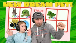 Trading Only For Austin's NEW DREAM PET!! A MEGA Crocodile! Roblox Adopt Me!!