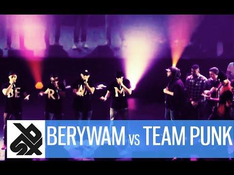 BERYWAM vs TEAM PUNK |  French Beatbox Championship 2015  | CREW FINAL