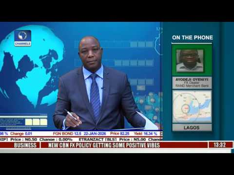 Business Incorporated: Naira Dollar Behaviour As CBN Intervenes