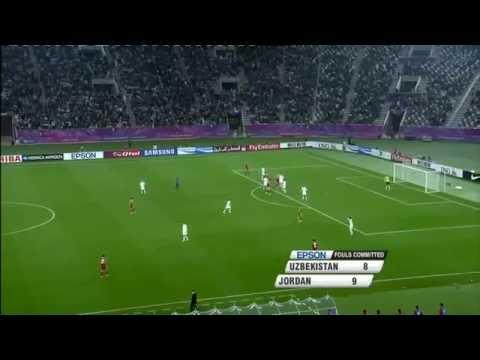Uzbekistan vs Jordan  AFC Asian Cup 2011 Full Match