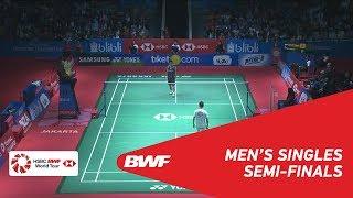 MS | Kento MOMOTA (JPN) vs LEE Chong Wei (MAS) [7] | BWF 2018