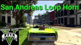 GTA 5 Lowriders DLC - San Andreas Loop Horn! (GTA 5 Online)