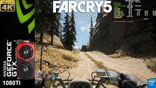 Far Cry 5 Ultra Settings 4K Performance | GTX 1080Ti | i7 5960X 4.4GHz