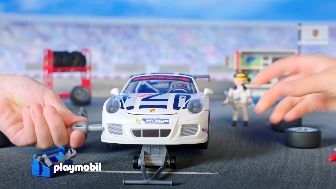 playmobil porsche 911 gt3 cup deutsch youtube. Black Bedroom Furniture Sets. Home Design Ideas