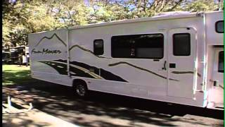 Video RV Road Test Video - 2004 Four Winds Fun Mover Toy Hauler by Ashley Gracile Distant Roads download MP3, 3GP, MP4, WEBM, AVI, FLV Mei 2018