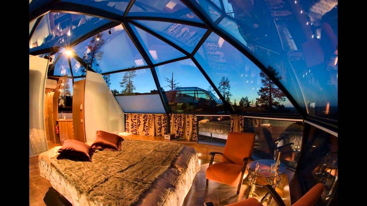 Ice Hotel Hotel Kakslauttanen Finland Youtube