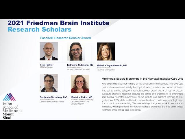 FBI Research Scholars: Drs. Richter, Fields, Glicksberg, and LaVega-Massello