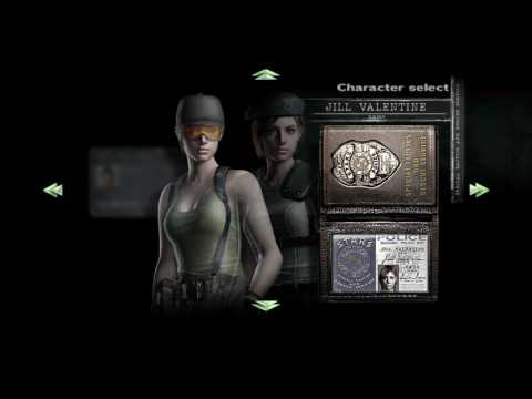 Resident Evil Remake all costumes