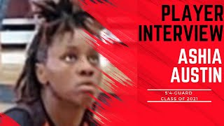 A1 Hoops Report Coach Allen interviews 2021 Ashia Austin