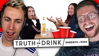 SIDEMEN REACT TO TRUTH OR DRINK WITH PARENTS