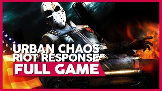 Urban Chaos: Riot Response | PS2 | Full Gameplay/Playthrough | No Commentary