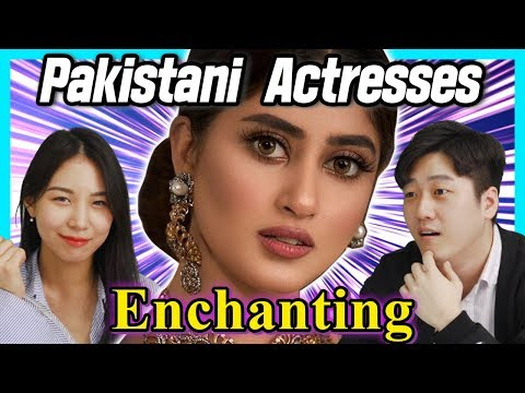 Korean React To 'Enchanting' Pakistani Actresses!!