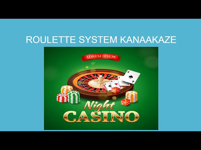 How to win at roulette in the casino  -  Kanakaaze  European Roulette strategy- European Roulette✔️