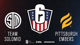 TSM vs. Pittsburgh Embers | Rainbow Six: US Nationals - 2019 | Stage 2 | Week 2 | Western C