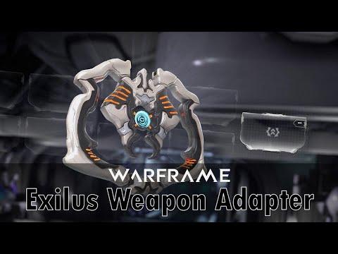 Warframe - Exilus Weapon Adapter