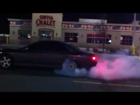 2002 Lincoln Ls V8 Burnout Vs Youtube