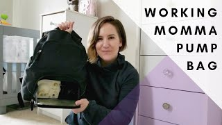 WHAT I KEEP IN MY PUMP BAG?!? | Pumping at work & on the go | Medela Pump in Style Advanced