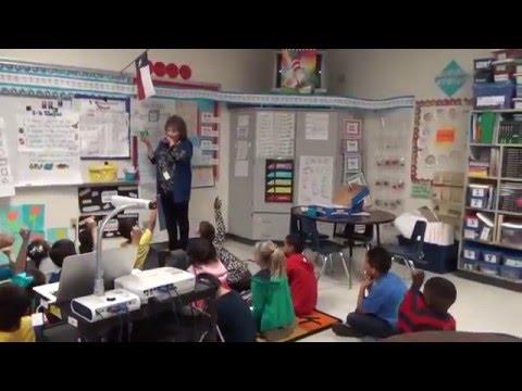 Cadena First Grade Class