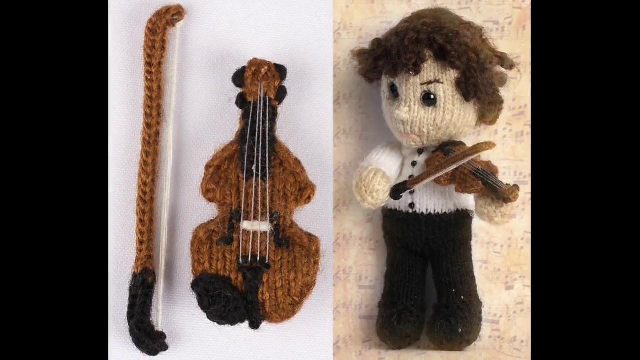 Amigurumi Сrochet Violin - musical instrument | Crochet Toys ... | 720x1280