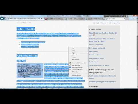 How To Copy And Paste Content From Webpage Into Word Document