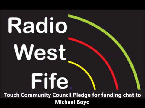 Touch Community Council pledge for funding chat to Michael Boyd