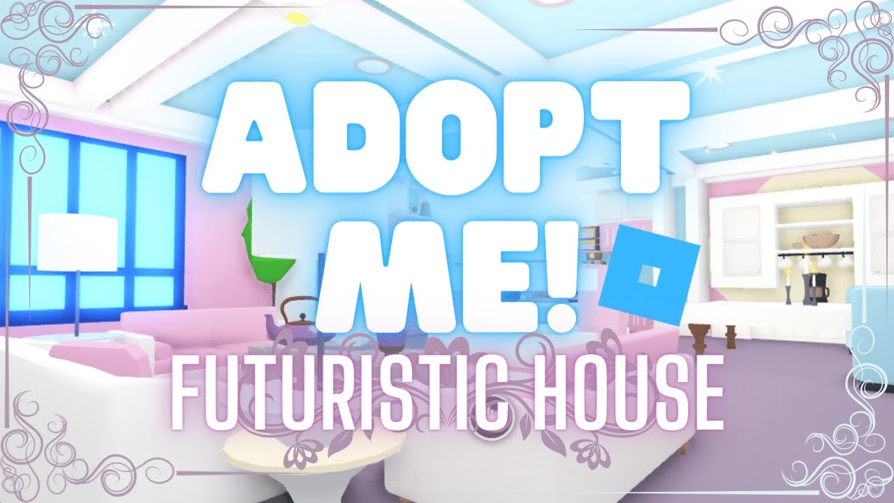 Adopt Me Futuristic House Furniture Building Hacks Decorating Ideas Aesthetic Builds Madam Madhouse Youtube