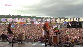 HAIM - The Wire - Glastonbury 2014 [HD 1080i]