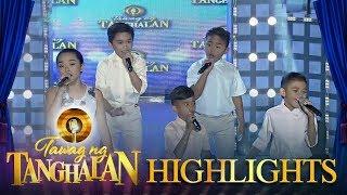"""Tawag ng Tanghalan: TNT Kids perform """"Liwanag sa Dilim"""""""
