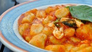 Картофельные ньокки ( клецки ).Итальянская кухня.